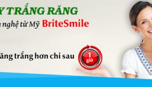 tẩy trắng răng Brite Smile