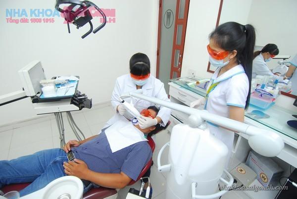 thiết bị tẩy trắng răng