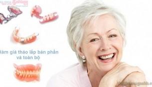 Làm gì để nhanh chóng thích nghi với hàm răng giả?